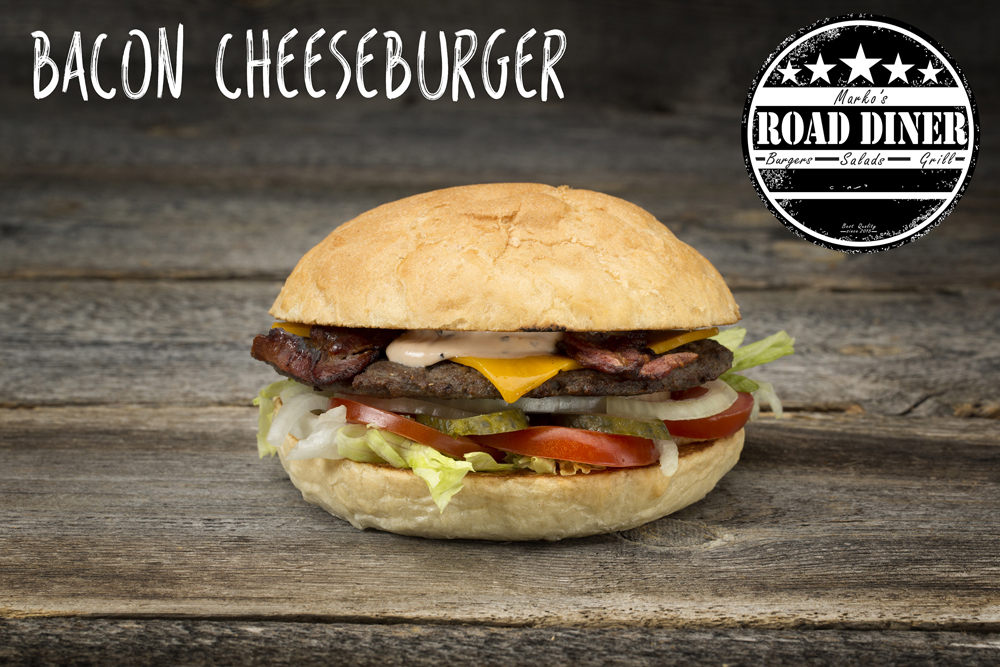 Road Diner Bacon Cheeseburger