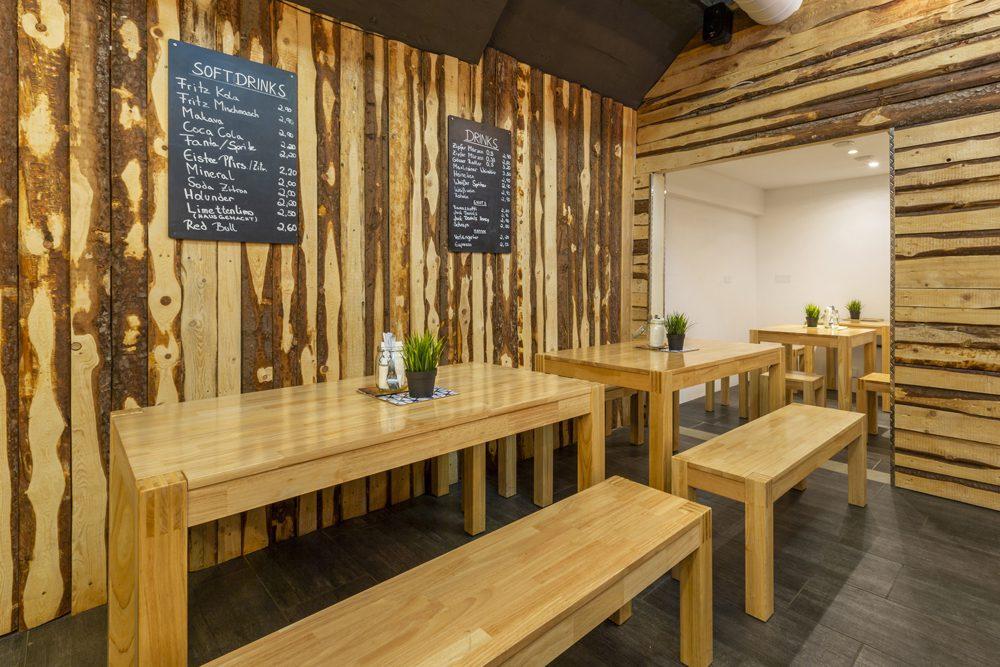 Road Diner Innsbruck - Lokal Mieten Bar und Sitzplatz viel platz