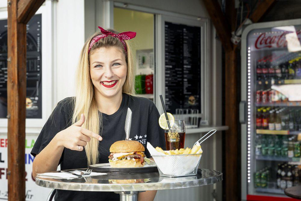 Road Diner Mitarbeiter Hall in Tirol